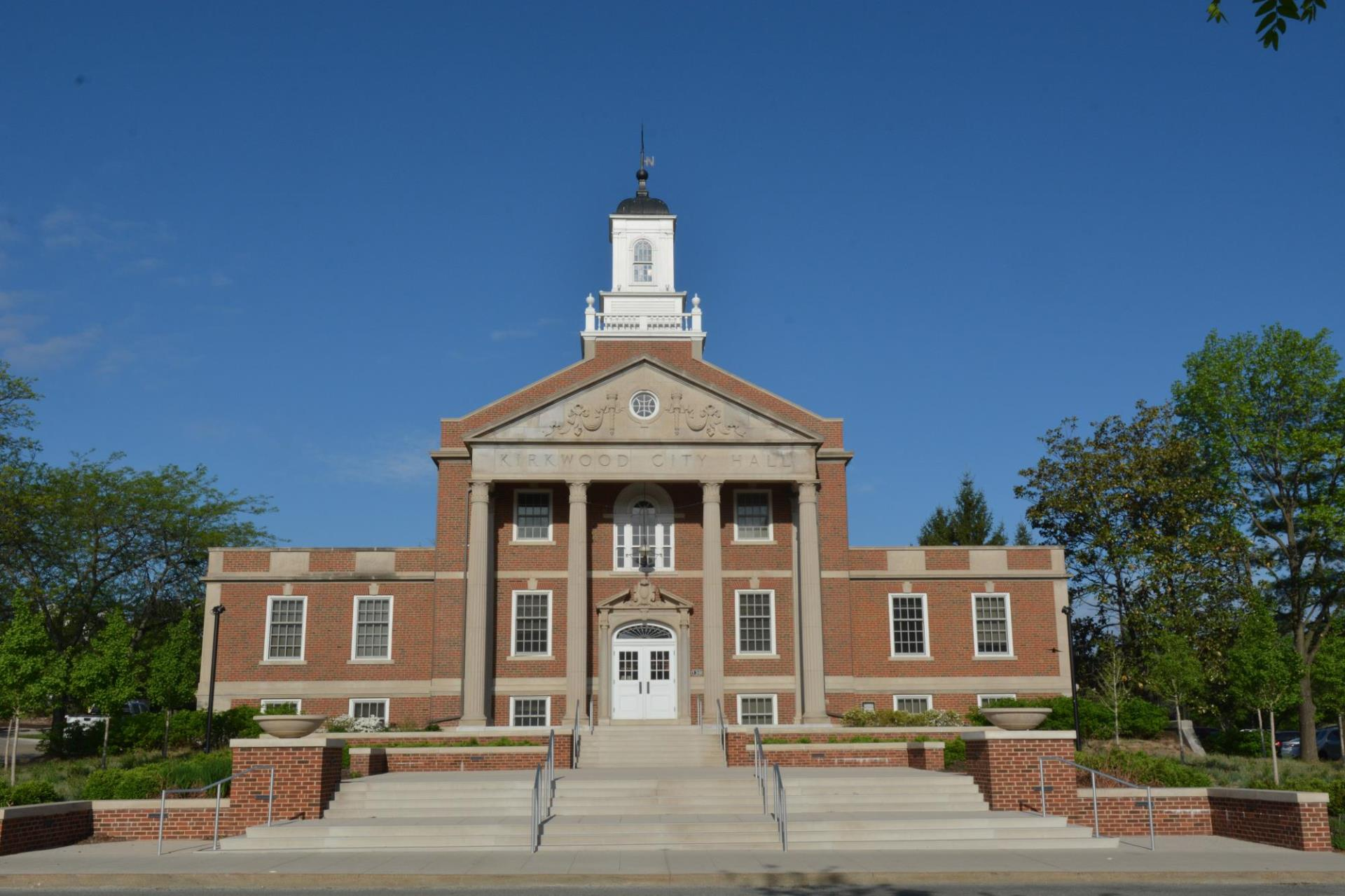 Kirkwood City Hall on a Sunny Day