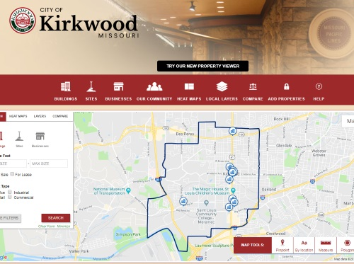 Choose Kirkwood Screenshot