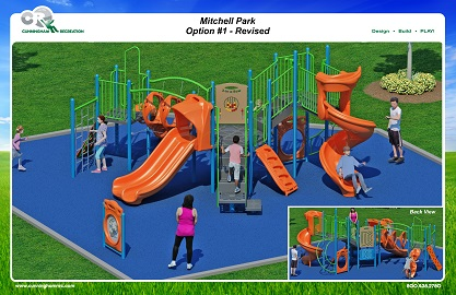 Mitchell Park Playground Construction