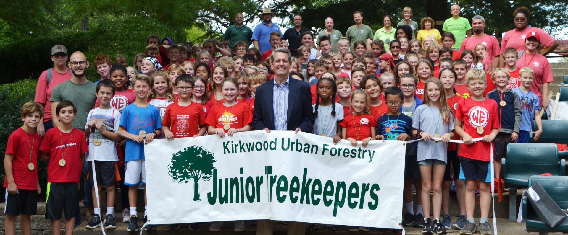 Treekeepers with Mayor