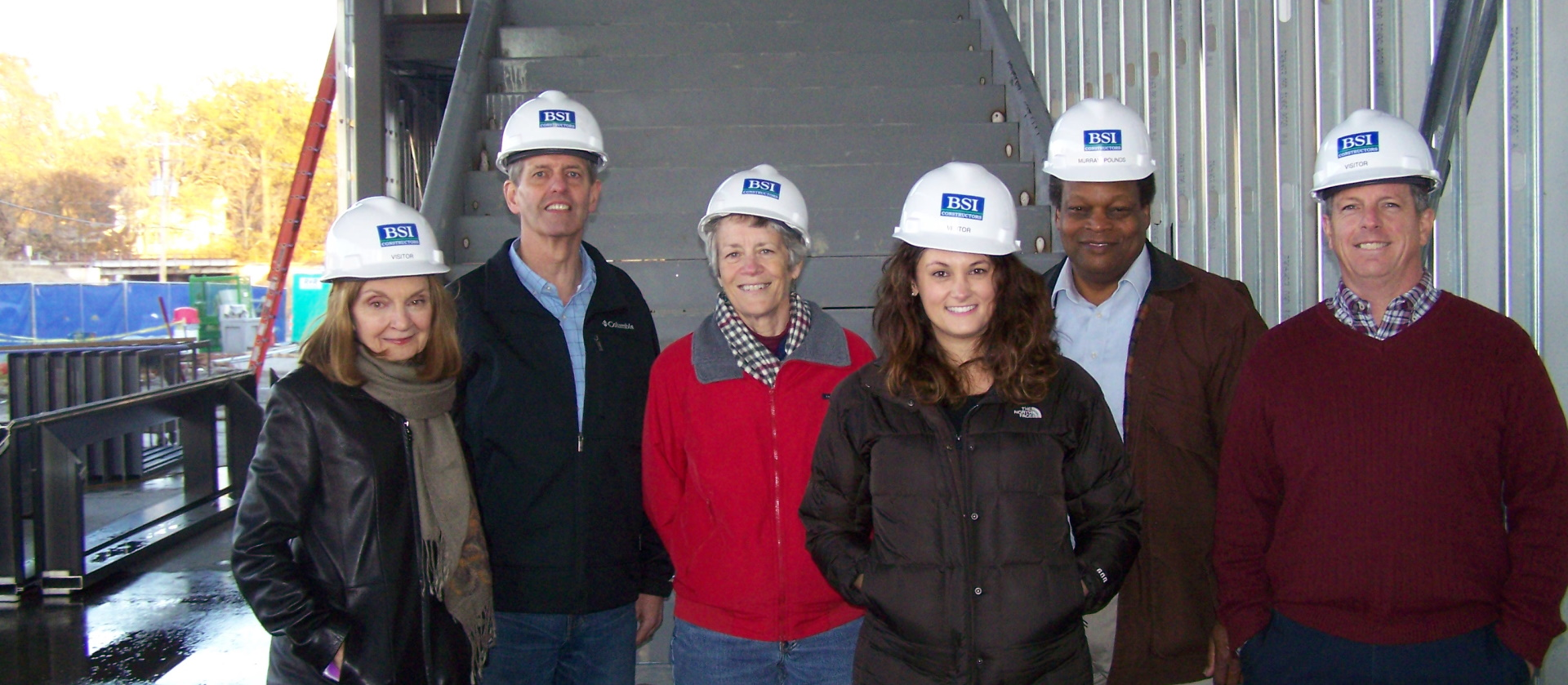 City Council Visits Performing Arts Center Construction