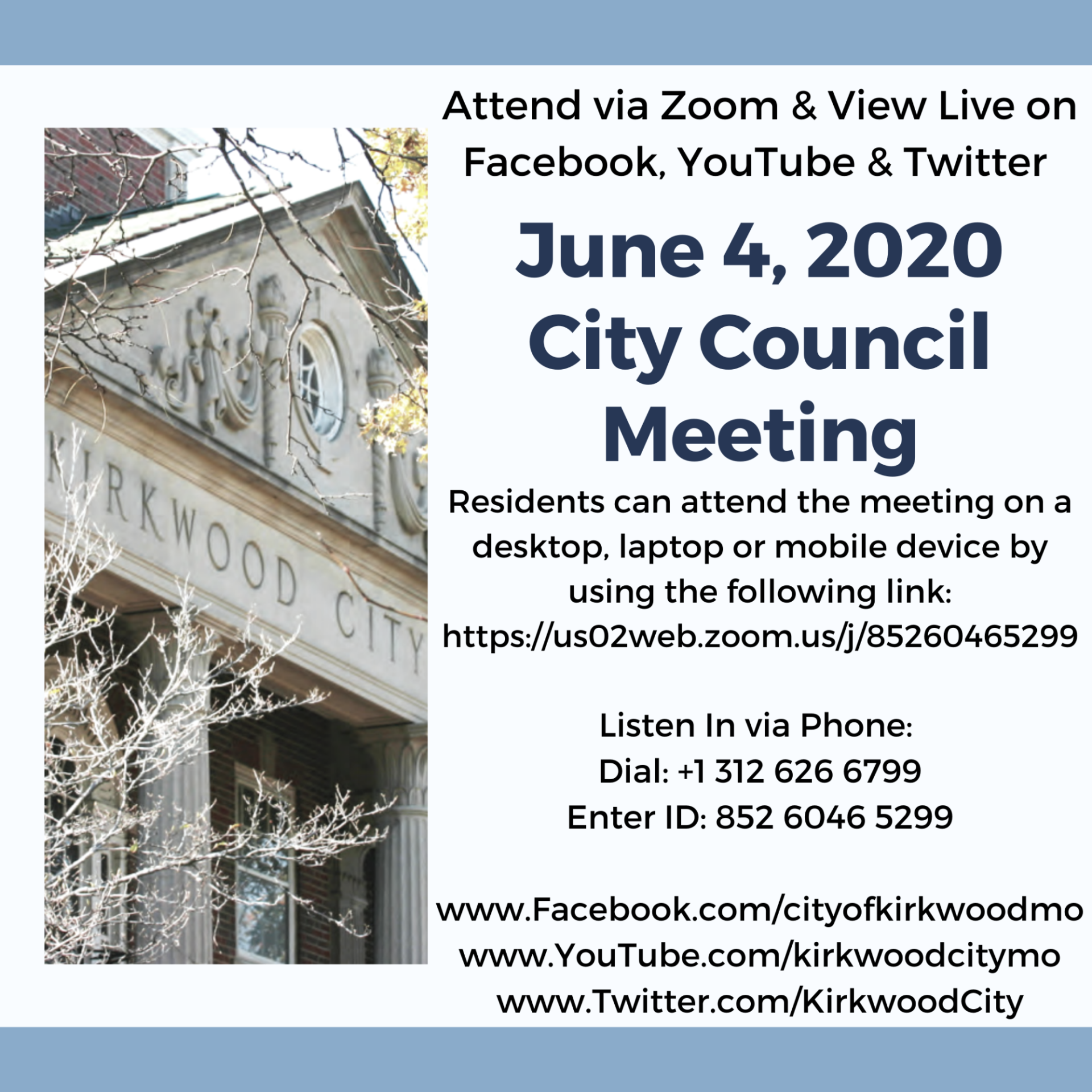 June 4, 2020 Council Meeting